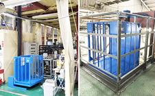 小型リフト・三重県の工場