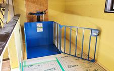 小型リフト・長野県の倉庫