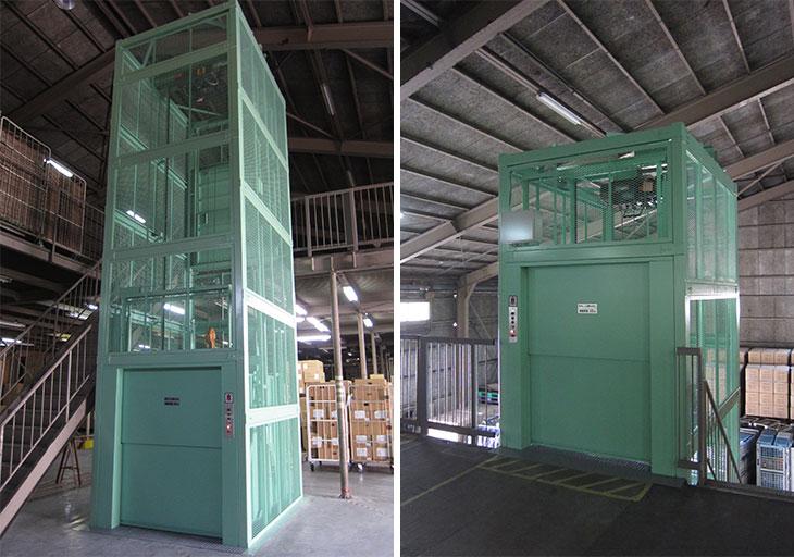 倉庫リフト-物流センター