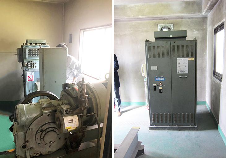 エレベーターの機械室に広さの規定はありますか?