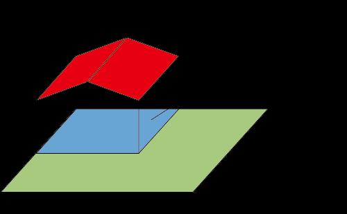 建ぺい率の図解