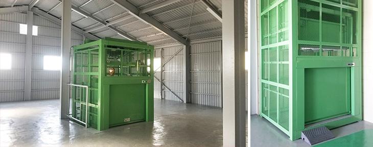 倉庫-簡易リフト