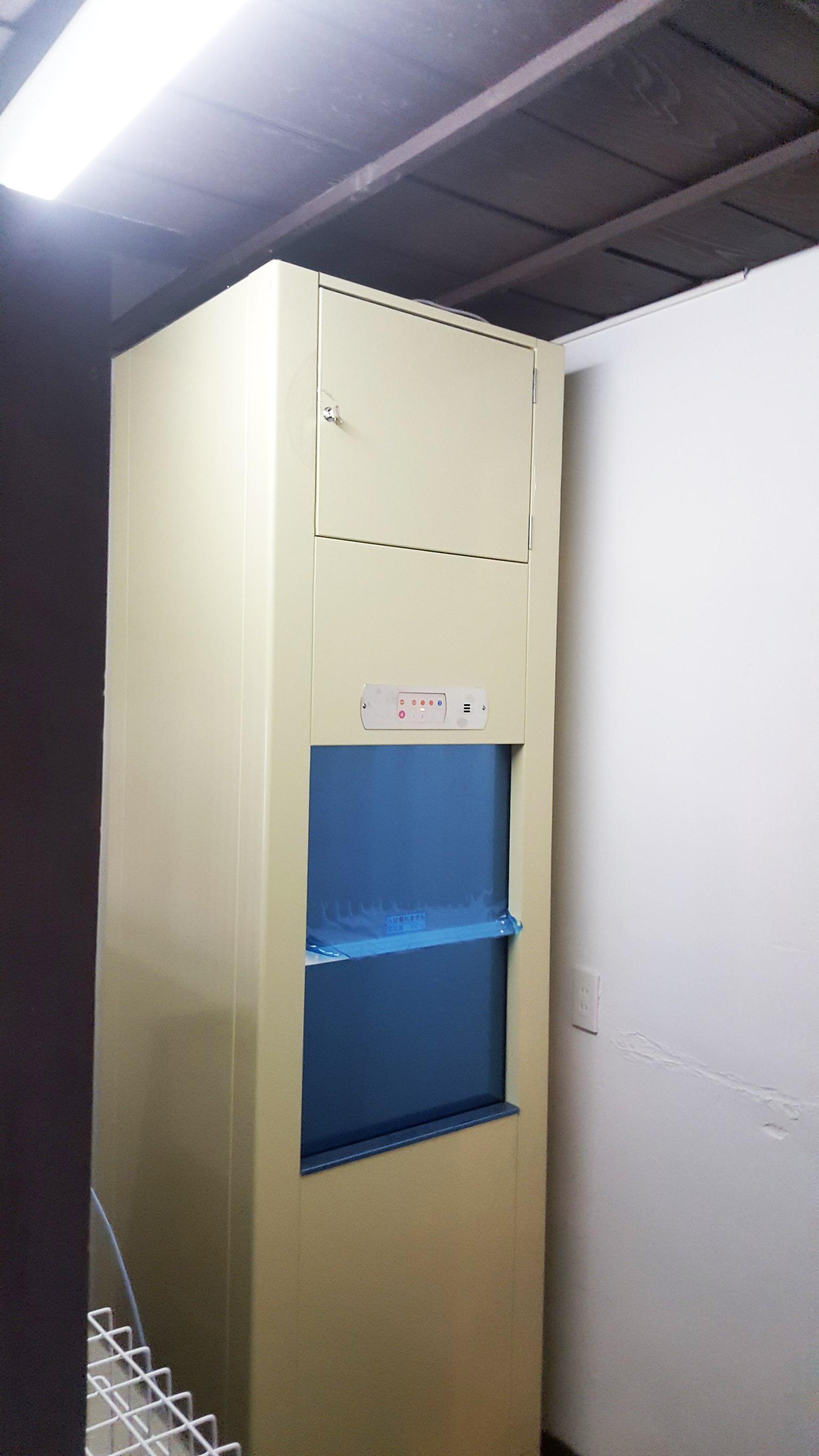 小荷物専用昇降機の設置