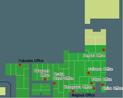 アイニチ営業所マップ