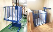 小型昇降機を工場に設置/岡山県Tさま
