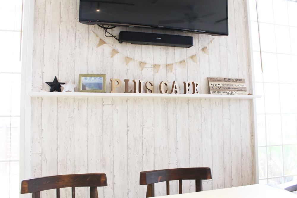 Pluscafe インテリア