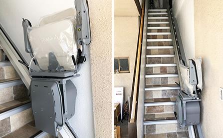 いす式階段昇降機・京都府の店舗